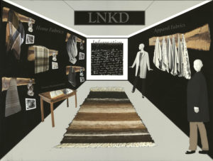 LNKD shows home fabrics collection by Jacqueline Sewell