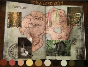 The lost girl Neverland story booklet