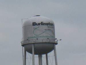 burlingtonsocksadwatertower2009