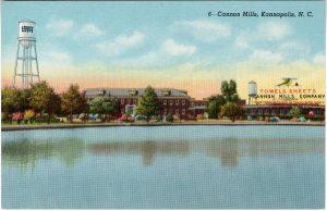 cannon_mills_kann-_unc_postcard
