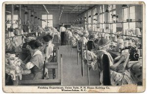 hanesunion_suits_sewing_unc_postcard_1930s