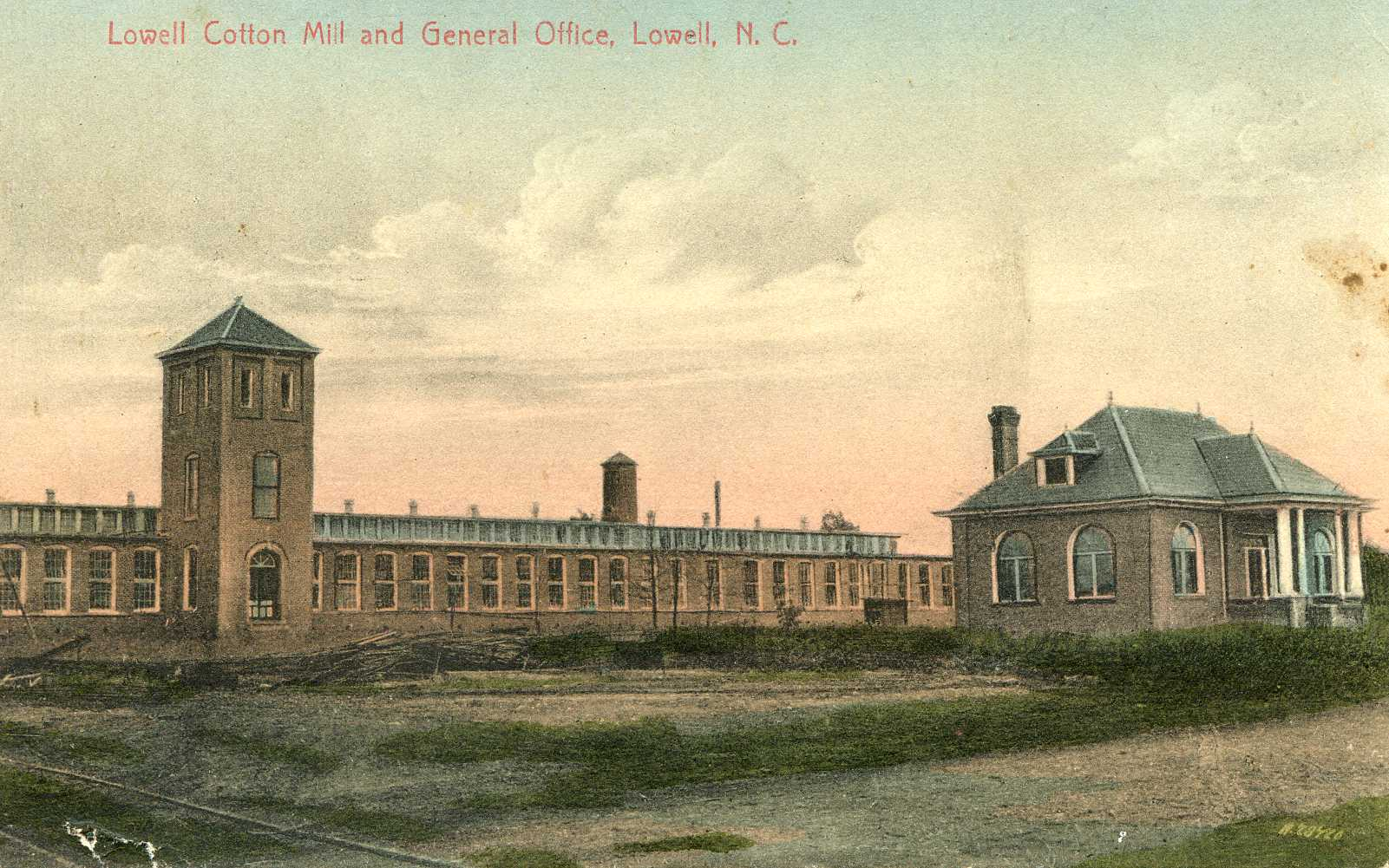 lowellcottonmilllowell