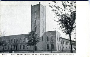 scotland_neck_cotton_mill_1900_unc_postcard