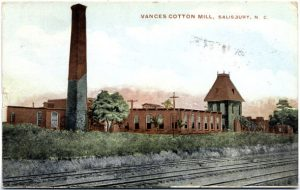 vance_s_cotton_mill_1911_salisbury_unc_postcard