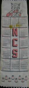 1965 Textiles Bookmark