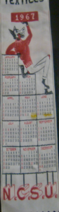 1967 Textiles Bookmark