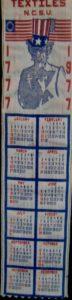 Textile Bookmark - 1977