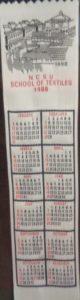 Textile Bookmark - 1989 - Centennial