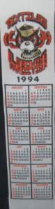 Textile Bookmark - 1994
