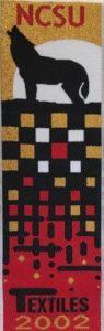 Textile Bookmark - 2002