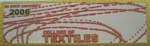 Textile Bookmark - 2006