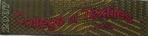 Textile Bookmark - 2007