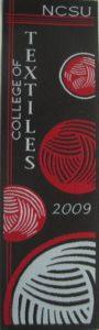 Textile Bookmark - 2009