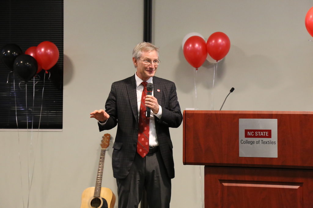 Dean Hinks address audience at Multicultural Festival