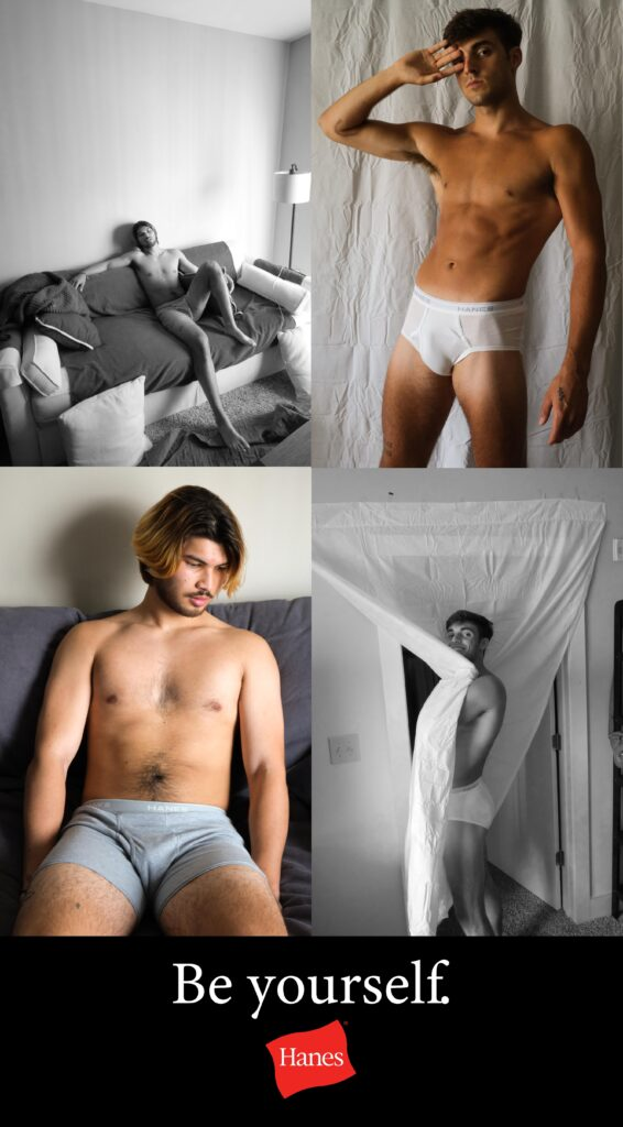 Be Yourself by Hanes