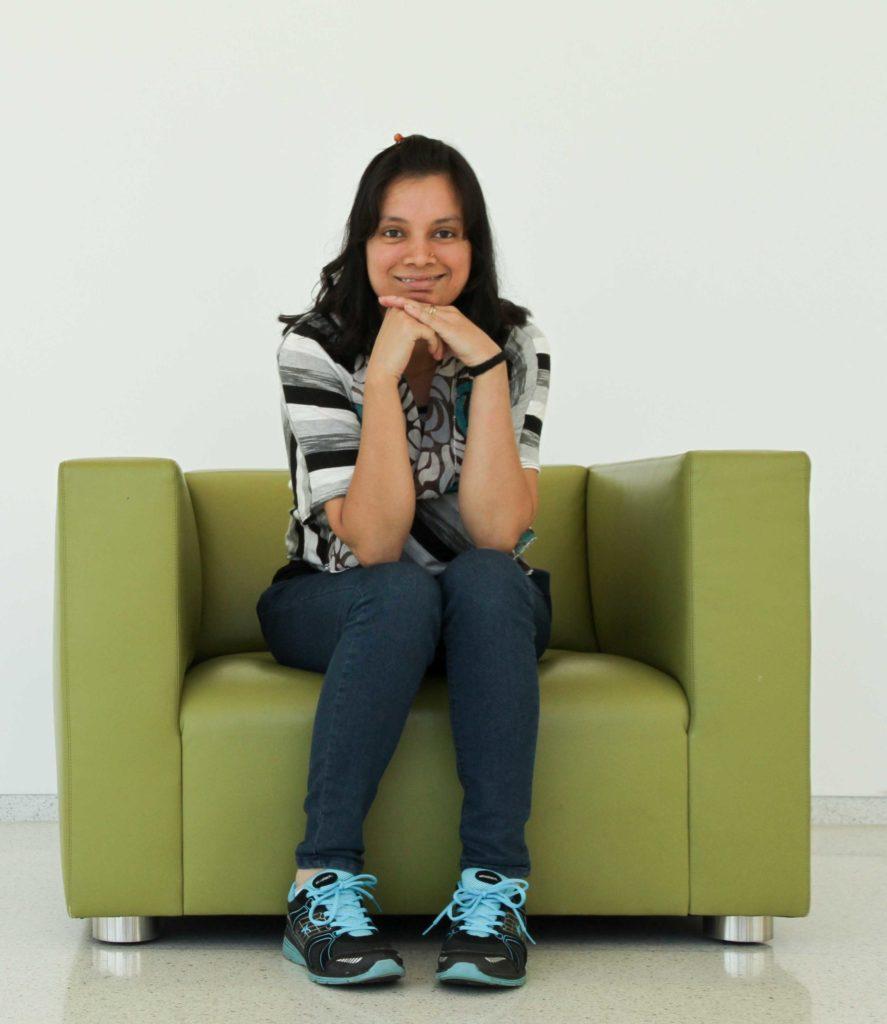 Nadia Sultana Portrait in hunt library